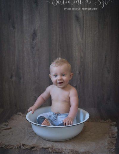 séance bébé Battement de Syl Photographe six fours les plages var